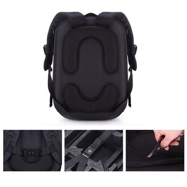 Hardshell Metal Color Carrying Case for RC Drone