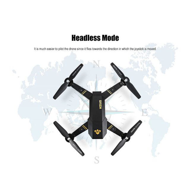 Visuo RC Mini Foldable Drone